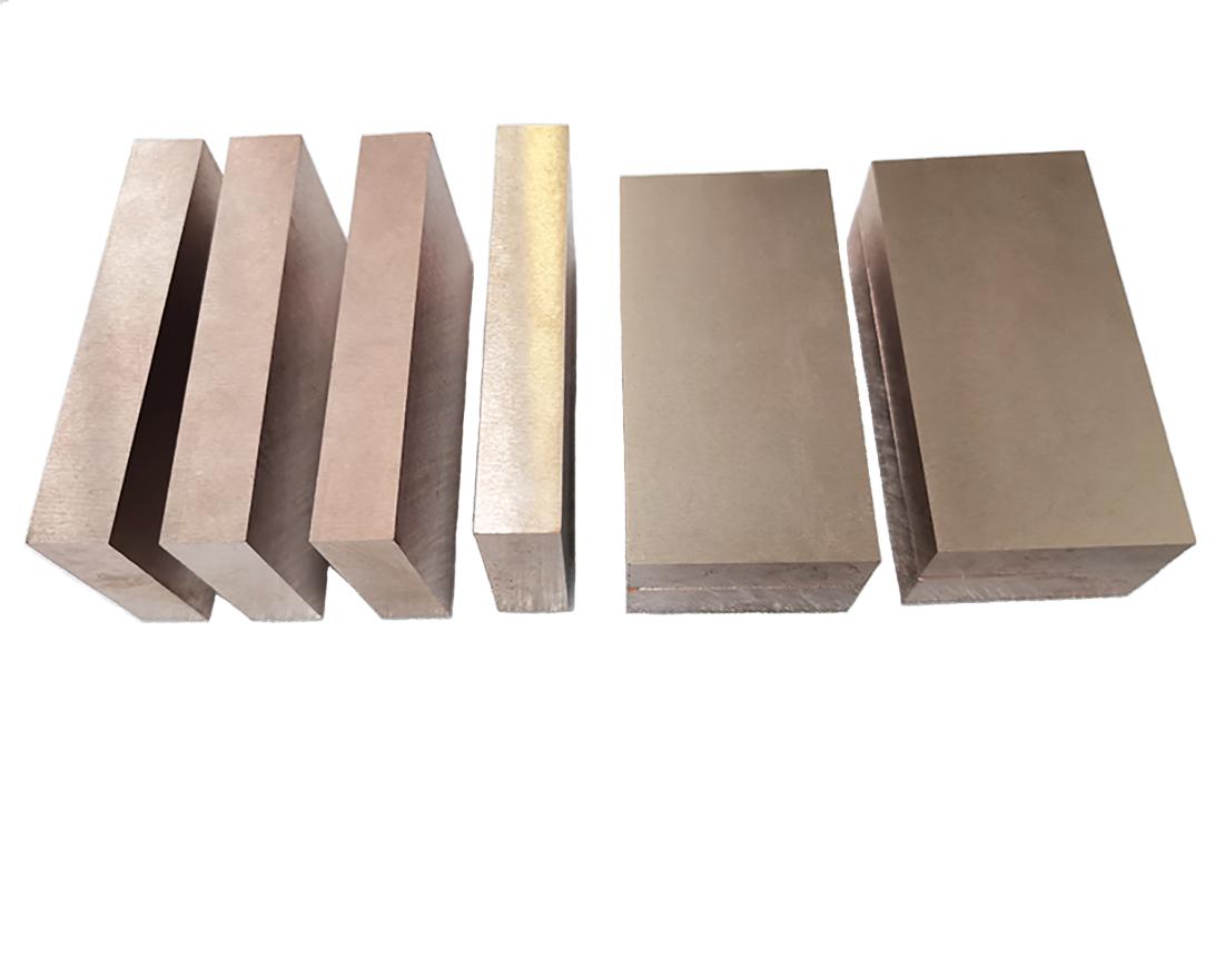 株洲厂家供钨铜板,钨铜合金块,钨铜合金配重块